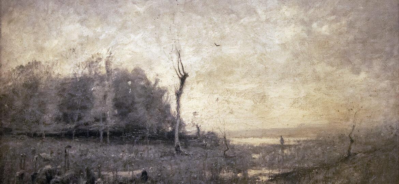 John Francis Murphy (1853-1921) : A bit of lowland, 1878.