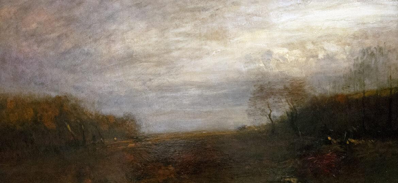 John Francis Murphy (1853-1921) : Golden autumn, 1897.