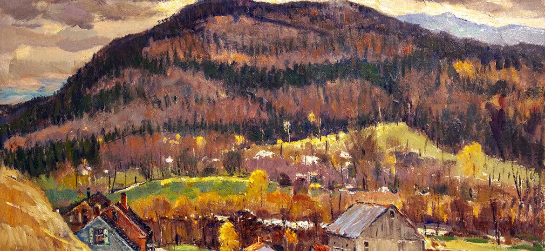 Antonio Cirino (1889-1983) : Mountain farm, ca.1900s.