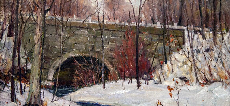 Antonio Cirino (1889-1983) : Stone bridge II, ca.1900s.