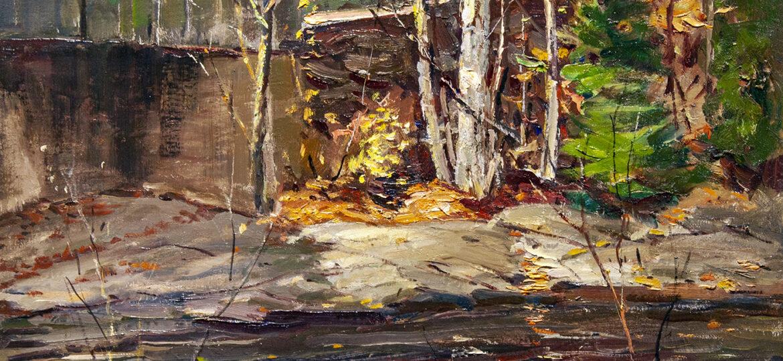 Antonio Cirino (1889-1983) : Mill by the river, ca.1900s.