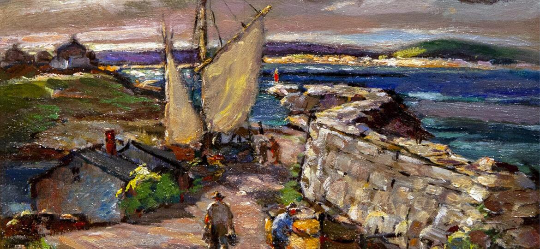 Antonio Cirino (1889-1983) : End of the island, ca.1900s.