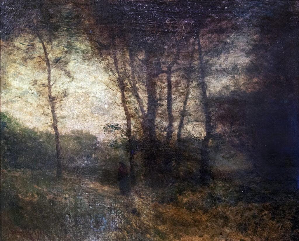 (Benjamin) Franklin DeHaven (1856-1934) : Nightfall, 1900.