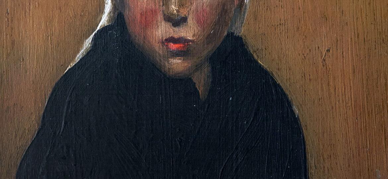 Arthur Reeblin Freedlander (1875-1940) [RA 1905-1940] : Marie, ca.1909.