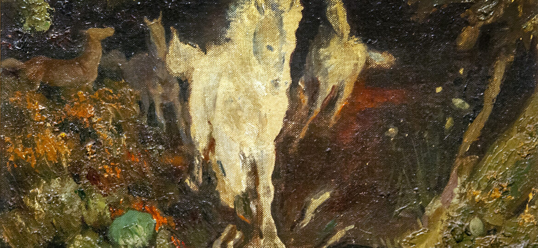 Thomas Richard Olenchak (1907-1992) : Horses 1947.