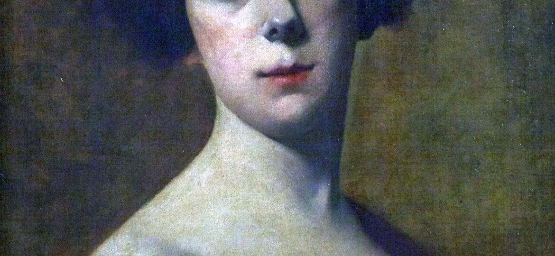 "Herbert ""Robert"" Augustus (Levy) Morgan (1857-1917) [RA 1892-1917] : Portrait of a woman, ca.1904."