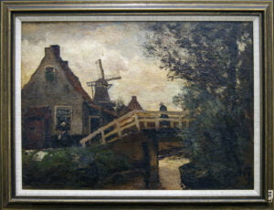 Harry Grant Williamson (1866-1937) [RA 1905-1937] : Dutch scene, ca.1907.