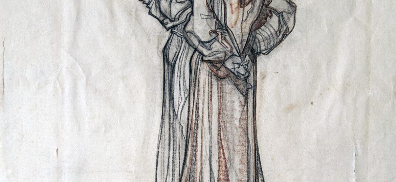 2007.471 Charles Dean Dan Cornwell 1892-1960 Three monks ca1930s