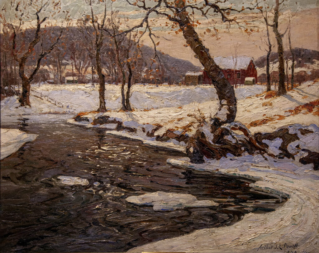 Arthur James Emery Powell (1864-1956) : Clear and cold, ca.1931.