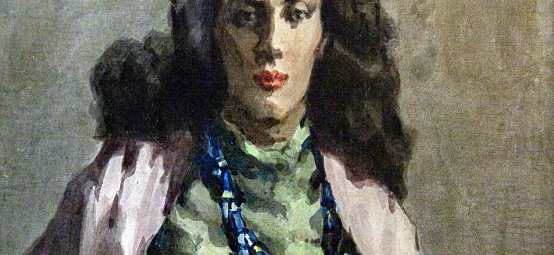 David Wu Ject-Key (1890-1968) : Gypsy girl, ca.1954-1968.