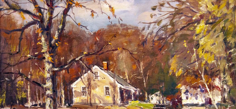 Antonio Cirino (1889-1983) : Rhode Island rurality, 1975.