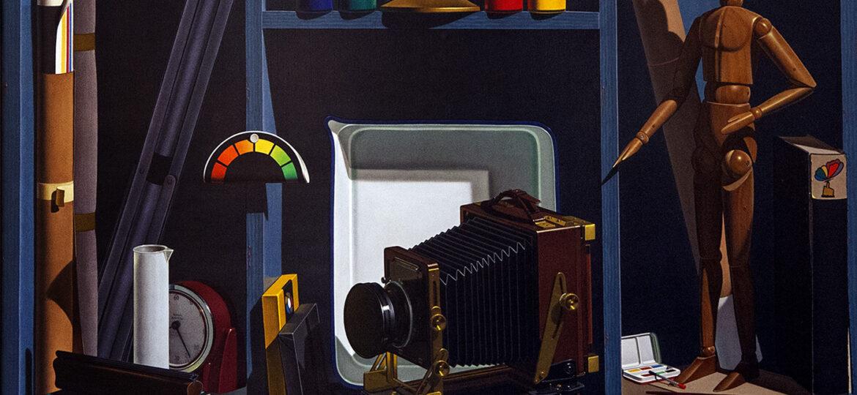 Gary Thomas Erbe (b.1944) : Double image, ca.1980s.