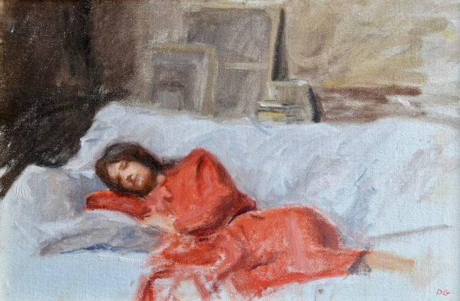 Dylan Gillespie (b.1993) : Beauty in repose, ca.2020.