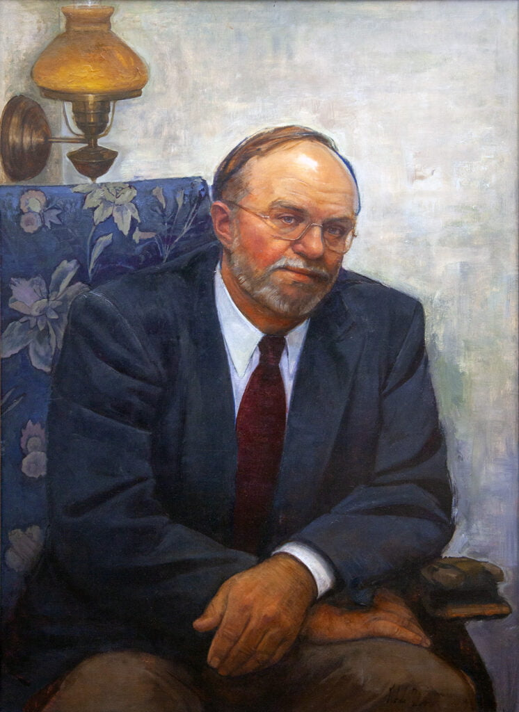 Gabriela Gonzalez Dellosso [RA 1998-2011] : Presidential portrait of Ed Brennan [EM RA 1973], 2001.
