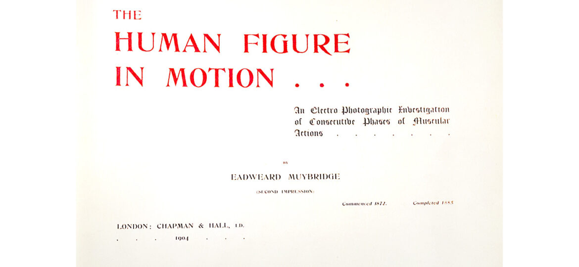 The human figure in motion : a source book of sequential action images by a master photographer.