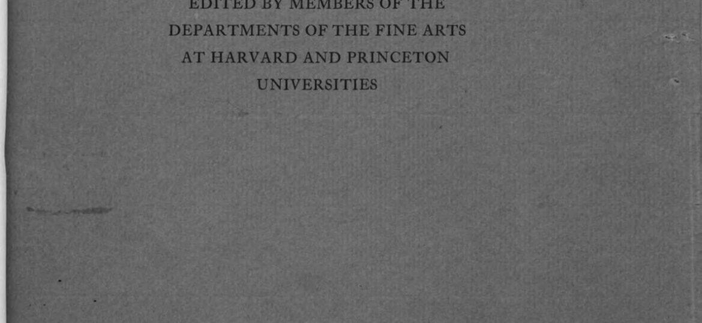 Art studies : Medieval, Renaissance and Modern.