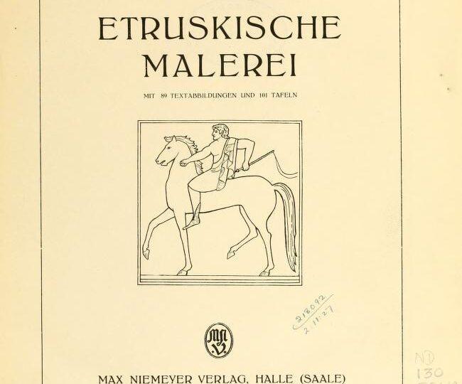 Etruskische malerei.