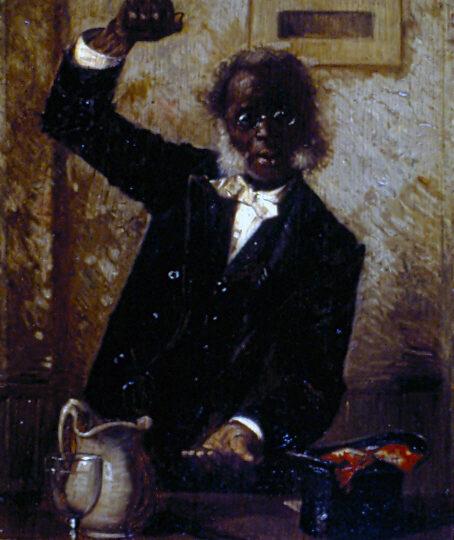 Harry Roseland (1866/68-1950) : The black preacher, 1899.