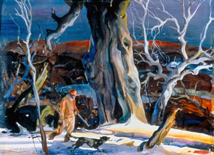 John Edward Costigan (1888-1972) : Big tree, ca.1900s.