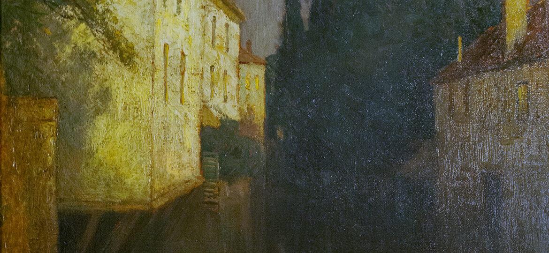 Charles Warren Eaton (1857-1937) : Solitude, 1902.