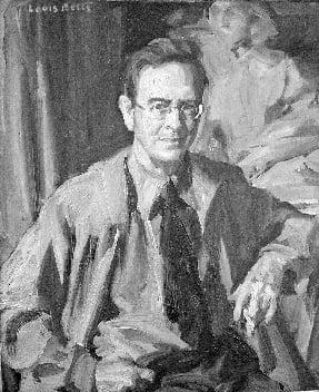 Louis F Betts (1873-1961) : Portrait of Hobart Nichols, Jr. (1869-1962), ca.1900s.