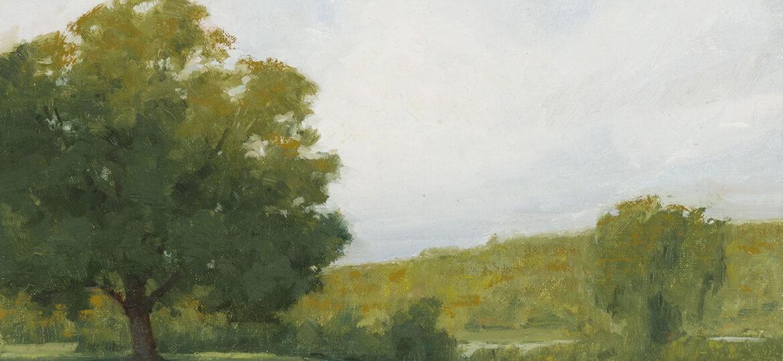 Patrick Okrasinski (b.1996) : First morning of Autumn, 2020.