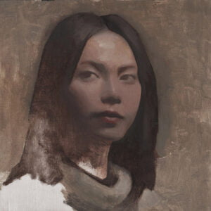 Dustin Adamson (b.1987) : Portrait no. 19, 2020.
