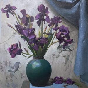 Daniela Astone (b.1980) : Giaggioli, 2020.