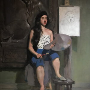 Konstantin Rudnichenko (b.) : Interior scene, 2000s.