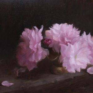 Van Nguyen (b.) : Spring blossoms, 2020.