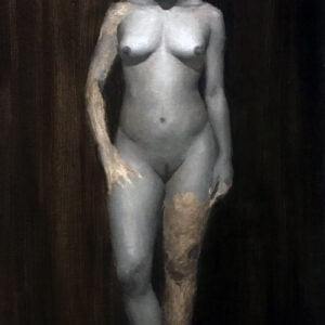 Lorenzo Narciso (b.) : Lady in grisaille, 2019.