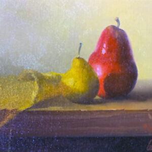 Gayle Levée (b.) : Crimson & gold 11, 2000s.