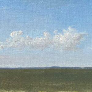Kevin Müller Cisneros (b.1992) : Arrangement of clouds, 2020.