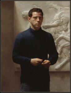 Jacob Collins: Self-portrait.