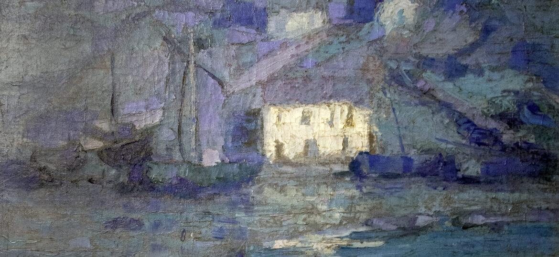 "ohn ""Wichita Bill"" Noble (1874-1934) : Moonlight audierne, ca.1909."