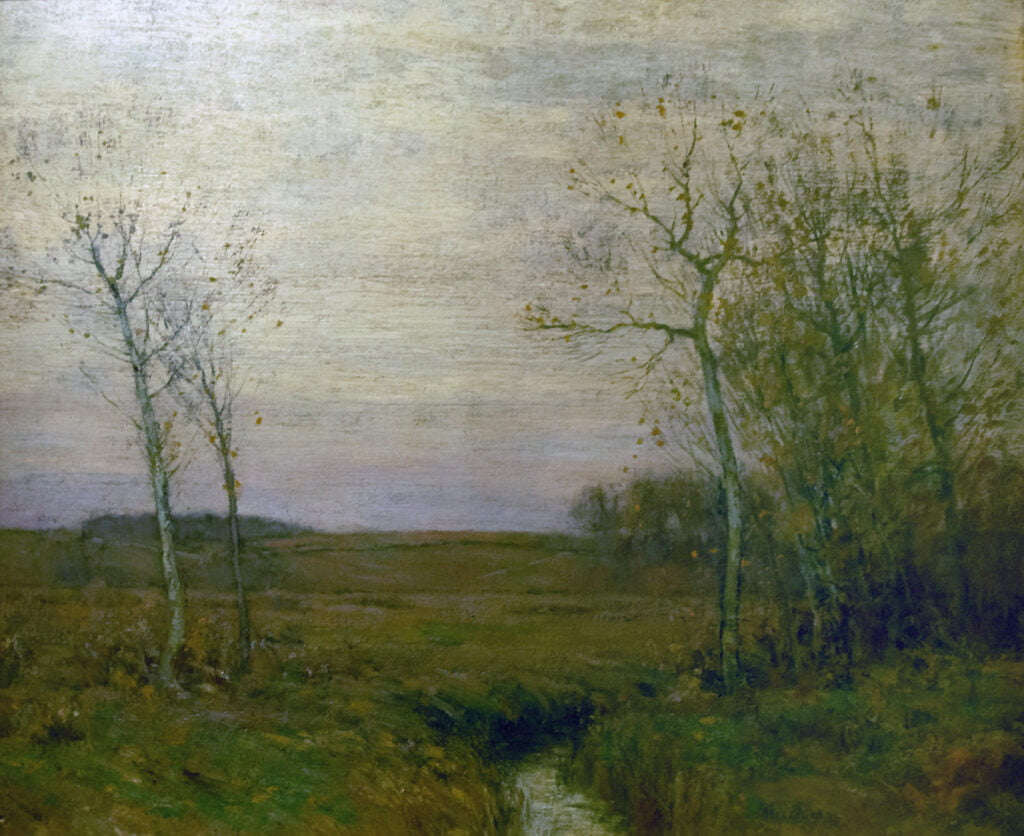 (Robert) Bruce Crane (1857-1937) : November morning, 1902.