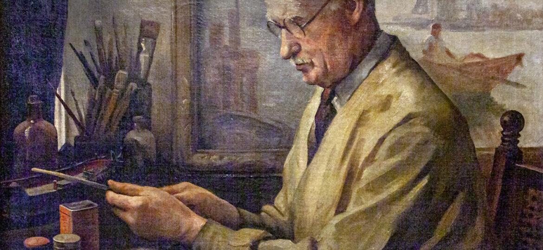 Keith Shaw Williams (1906-1951) : Portrait of Gordon Hope Grant (1875-1962), club president 1939-1941, ca.1941.