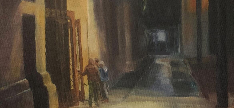 Sherie Harkins : Night light (#9), ca.2021.
