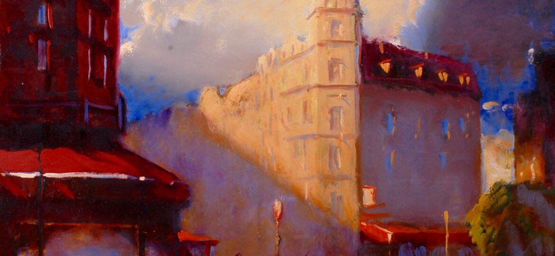 Gregg Kreutz : Paris light (#75), ca.2021.