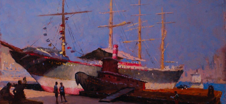 Gregg Kreutz : South Street seaport (#76), ca.2021.
