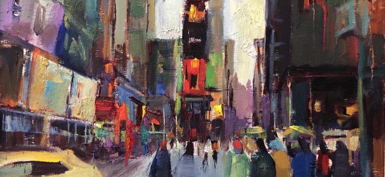 Lily Braff : Times Square, NYC (#7), ca.2021.