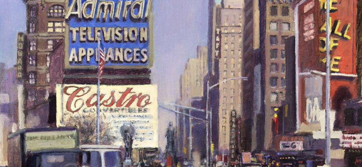 Tony D'Amico : The beat of Times Square (#32), ca.2021.