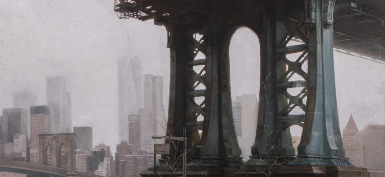 Sung Kim : Manhattan bridge in ram (#24), ca.2021.