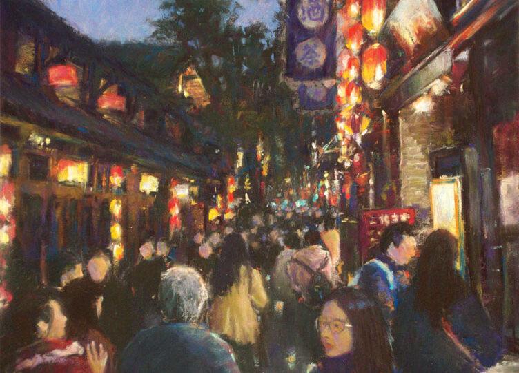 Shuk Lee : Jin Li night market (#55), ca.2021.