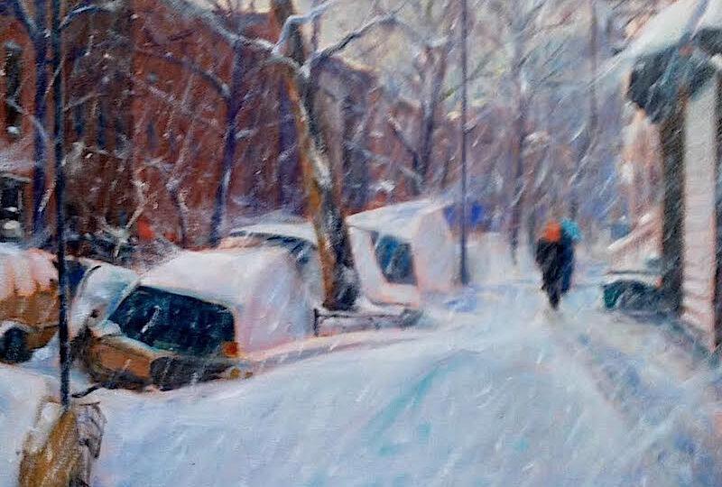 Richard Rosenblatt : Brooklyn blizzard (#42), ca.2021.