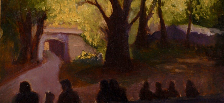 Christine Su : Light in Central Park (#82), ca.2021.
