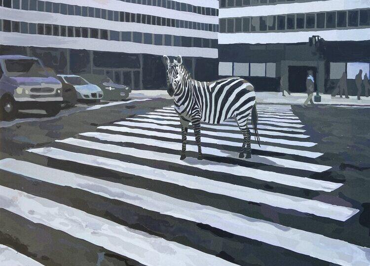 Keith Thomson : Urban camouflage (#122), ca.2021.