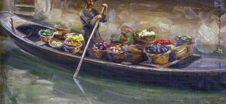 Alphaeus Philemon Cole (1876-1988) [RA 1918-1960] : Venice, 1905.