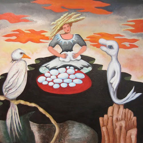 Irene Christensen [RA 2021] : Master of the feast, ca.2021.
