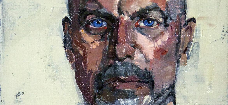 Sharon Sprung [RA 2015] : Portrait of a man, ca.2015.